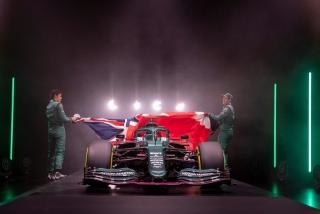 Las fotos del Aston Martin AMR21 de F1 2021 - Miniatura 7