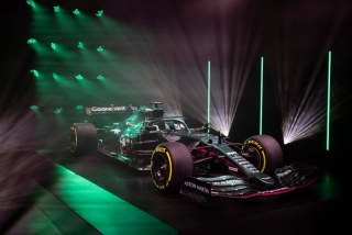 Las fotos del Aston Martin AMR21 de F1 2021 - Miniatura 8