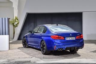 Fotos oficiales BMW M5 2018 Foto 17