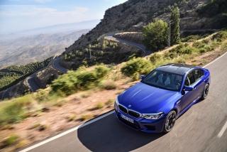 Fotos oficiales BMW M5 2018 Foto 21