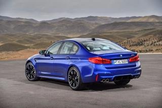 Fotos oficiales BMW M5 2018 Foto 26