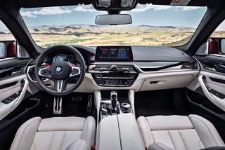 Fotos oficiales BMW M5 2018 Foto 56