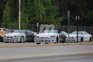 Fotos espía: gama Chevrolet Camaro 2019 - Foto 1