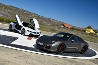 Foto 1 - Fotos comparativa BMW i8 vs Porsche 911 GTS