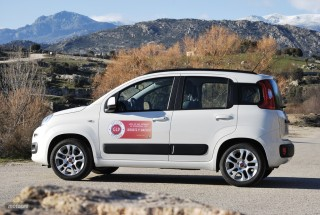 Fotos comparativa Fiat Panda y Peugeot 108 Foto 16