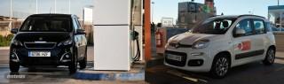 Fotos comparativa Fiat Panda y Peugeot 108 Foto 24