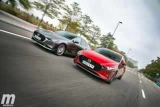 Fotos comparativa Mazda3 5 Puertas vs Sedán Foto 6