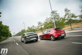 Fotos comparativa Mazda3 5 Puertas vs Sedán Foto 7