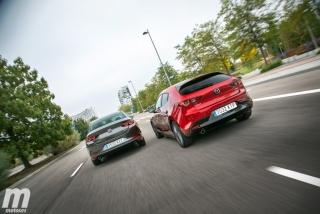 Fotos comparativa Mazda3 5 Puertas vs Sedán Foto 8