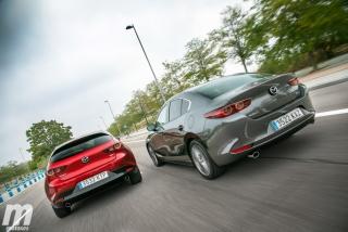 Fotos comparativa Mazda3 5 Puertas vs Sedán Foto 9
