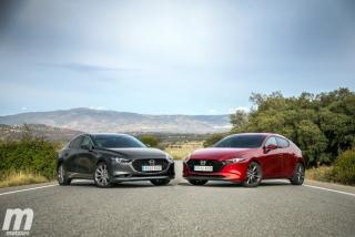 Fotos comparativa Mazda3 5 Puertas vs Sedán Foto 10