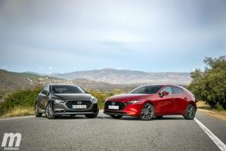 Fotos comparativa Mazda3 5 Puertas vs Sedán Foto 12