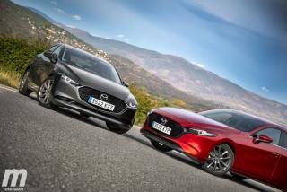 Fotos comparativa Mazda3 5 Puertas vs Sedán Foto 13