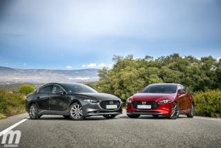 Fotos comparativa Mazda3 5 Puertas vs Sedán Foto 14