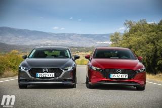 Fotos comparativa Mazda3 5 Puertas vs Sedán Foto 15