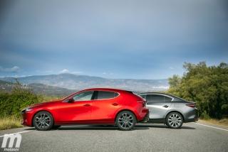 Fotos comparativa Mazda3 5 Puertas vs Sedán Foto 18