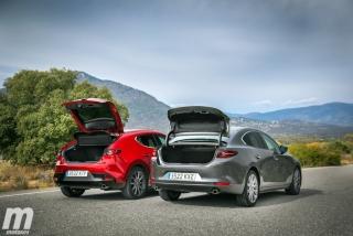 Fotos comparativa Mazda3 5 Puertas vs Sedán Foto 20
