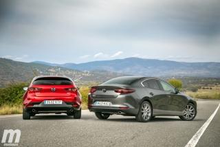 Fotos comparativa Mazda3 5 Puertas vs Sedán Foto 25