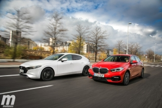 Fotos comparativa Mazda3 vs BMW Serie 1 Foto 3