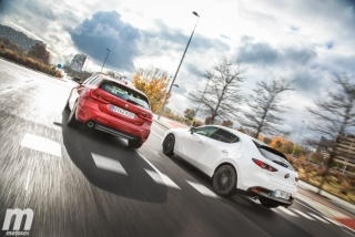 Fotos comparativa Mazda3 vs BMW Serie 1 Foto 5