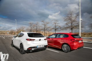 Fotos comparativa Mazda3 vs BMW Serie 1 Foto 6