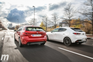 Fotos comparativa Mazda3 vs BMW Serie 1 Foto 10