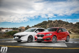 Fotos comparativa Mazda3 vs BMW Serie 1 Foto 12
