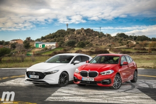 Fotos comparativa Mazda3 vs BMW Serie 1 Foto 13