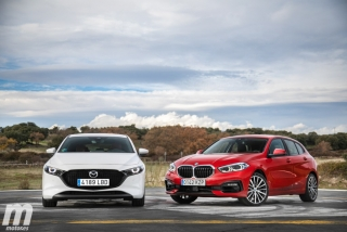 Fotos comparativa Mazda3 vs BMW Serie 1 Foto 14
