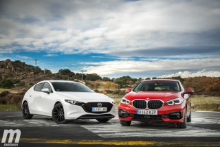 Fotos comparativa Mazda3 vs BMW Serie 1 Foto 15