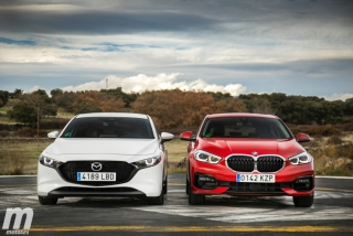 Fotos comparativa Mazda3 vs BMW Serie 1 Foto 16