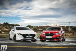 Fotos comparativa Mazda3 vs BMW Serie 1 Foto 17