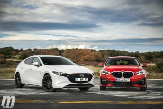 Fotos comparativa Mazda3 vs BMW Serie 1 Foto 18