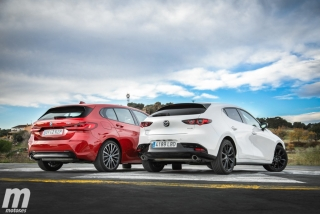 Fotos comparativa Mazda3 vs BMW Serie 1 Foto 20
