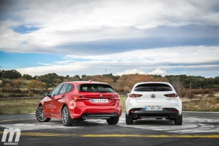 Fotos comparativa Mazda3 vs BMW Serie 1 Foto 23