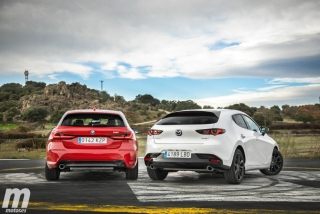 Fotos comparativa Mazda3 vs BMW Serie 1 Foto 24
