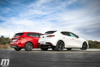 Fotos comparativa Mazda3 vs BMW Serie 1 Foto 25