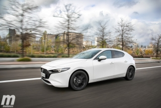 Fotos comparativa Mazda3 vs BMW Serie 1 Foto 35