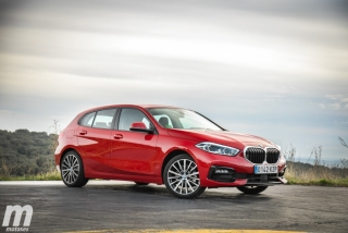 Fotos comparativa Mazda3 vs BMW Serie 1 Foto 116