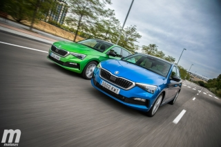 Foto 2 - Fotos comparativa Skoda Scala TSI vs TDI