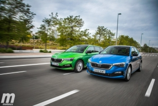 Foto 3 - Fotos comparativa Skoda Scala TSI vs TDI