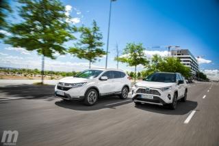Foto 2 - Fotos comparativa Toyota RAV4 vs Honda CR-V Hybrid