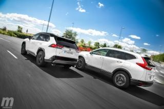Foto 3 - Fotos comparativa Toyota RAV4 vs Honda CR-V Hybrid