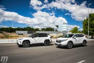 Fotos comparativa Toyota RAV4 vs Honda CR-V Hybrid - Miniatura 5