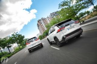 Fotos comparativa Toyota RAV4 vs Honda CR-V Hybrid - Miniatura 8