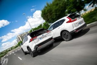 Fotos comparativa Toyota RAV4 vs Honda CR-V Hybrid - Miniatura 9