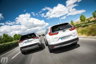 Fotos comparativa Toyota RAV4 vs Honda CR-V Hybrid - Miniatura 10