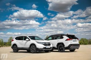 Fotos comparativa Toyota RAV4 vs Honda CR-V Hybrid - Miniatura 16