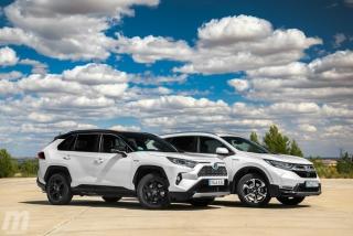 Fotos comparativa Toyota RAV4 vs Honda CR-V Hybrid - Miniatura 18