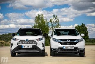 Fotos comparativa Toyota RAV4 vs Honda CR-V Hybrid - Miniatura 19